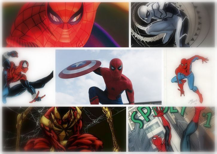 spider-mail civil war inspiraciones disfraz