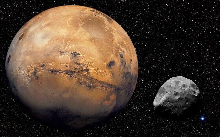 Marte y Phobos / Gray Lensman QX!