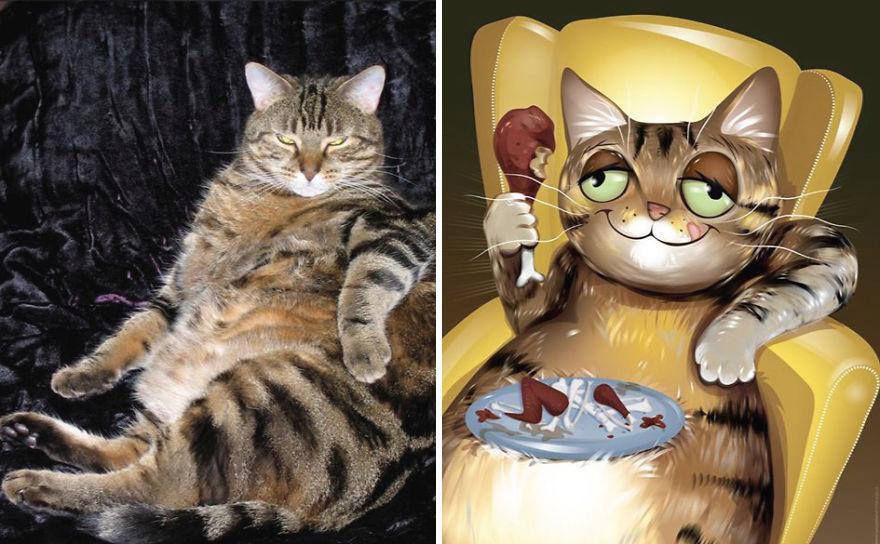 Chris Beetow mascotas ilustraciones (1)