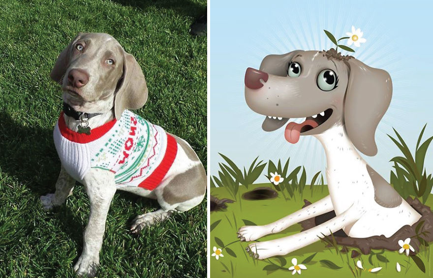 Chris Beetow mascotas ilustraciones (10)