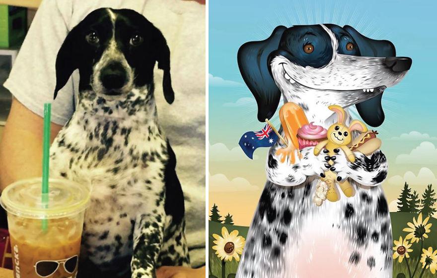 Chris Beetow mascotas ilustraciones (11)