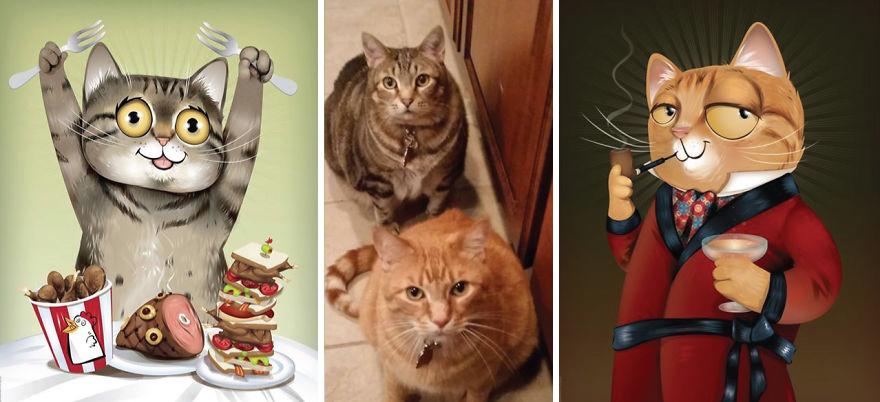 Chris Beetow mascotas ilustraciones (12)