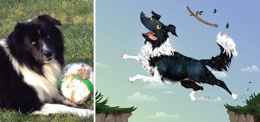 Chris Beetow mascotas ilustraciones (13)