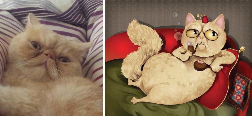Chris Beetow mascotas ilustraciones (15)