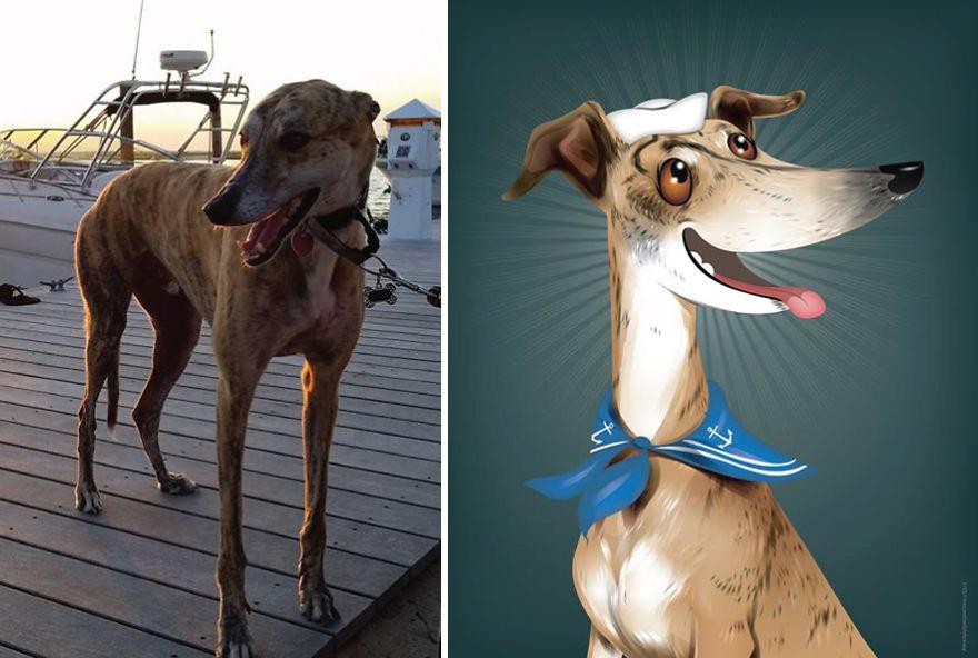 Chris Beetow mascotas ilustraciones (16)