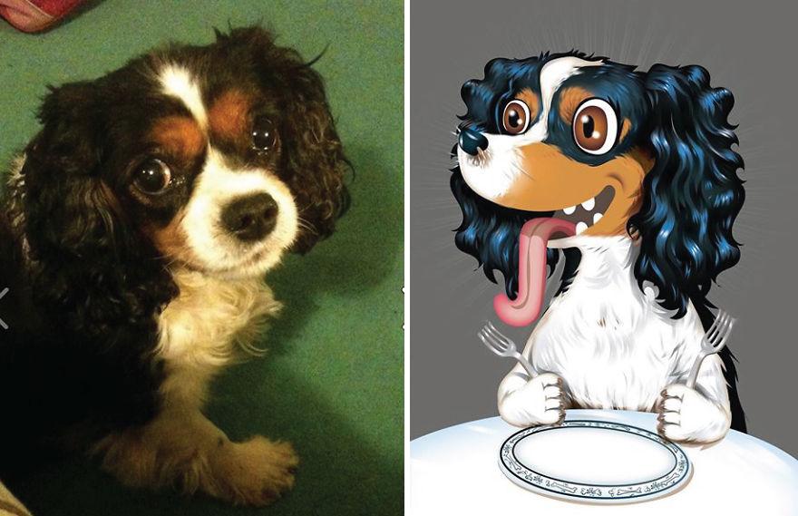 Chris Beetow mascotas ilustraciones (18)