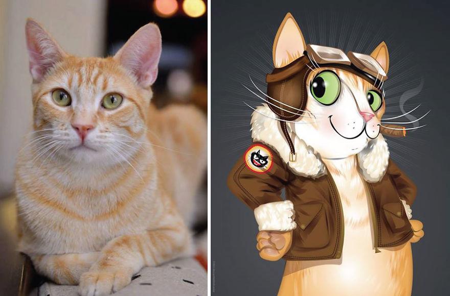 Chris Beetow mascotas ilustraciones (19)