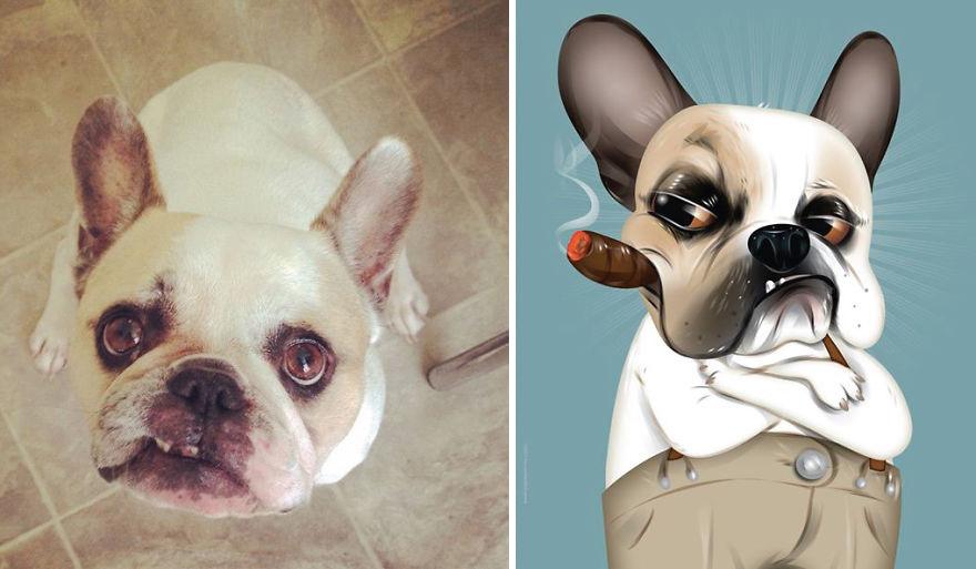 Chris Beetow mascotas ilustraciones (2)