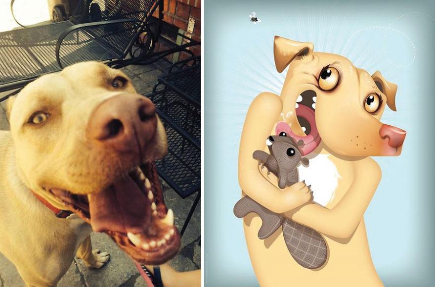 Chris Beetow mascotas ilustraciones (21)