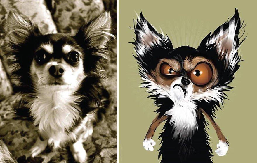 Chris Beetow mascotas ilustraciones (3)