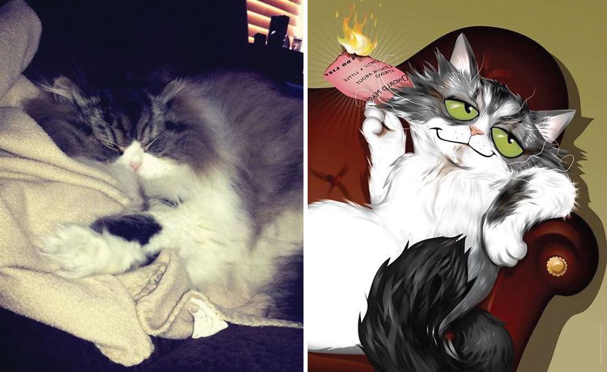 Chris Beetow mascotas ilustraciones (4)