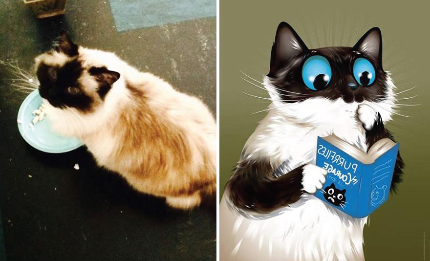 Chris Beetow mascotas ilustraciones (9)