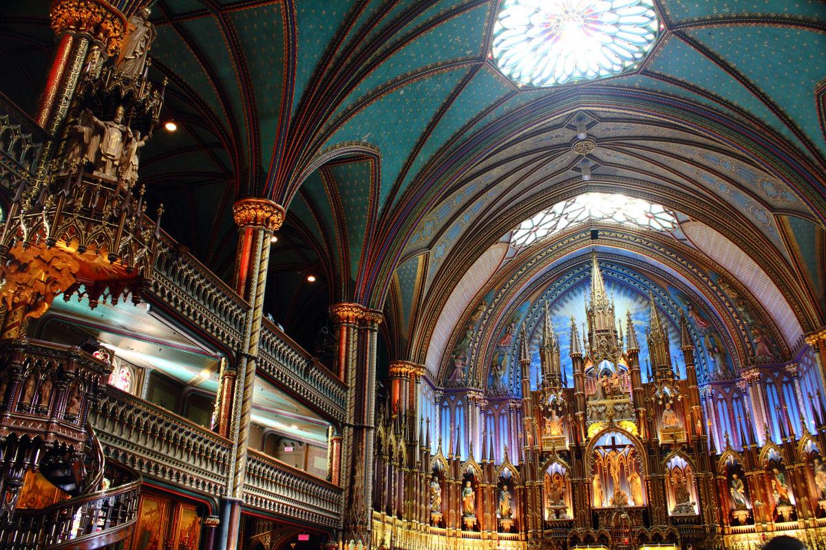 Notre Dame basilica Montreal (1)