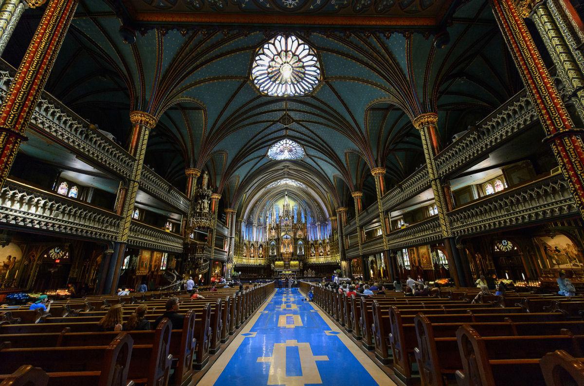 Notre Dame basilica Montreal (10)
