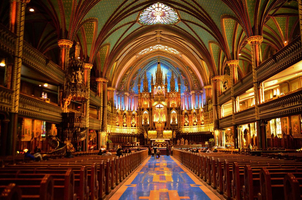 Notre Dame basilica Montreal (11)