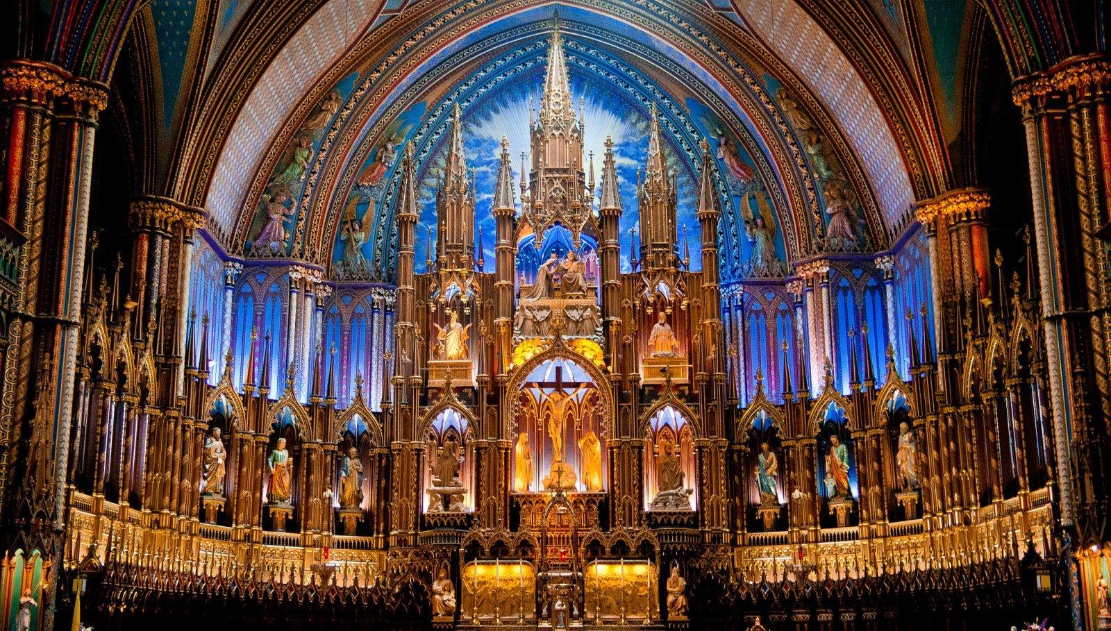 Notre Dame basilica Montreal (14)