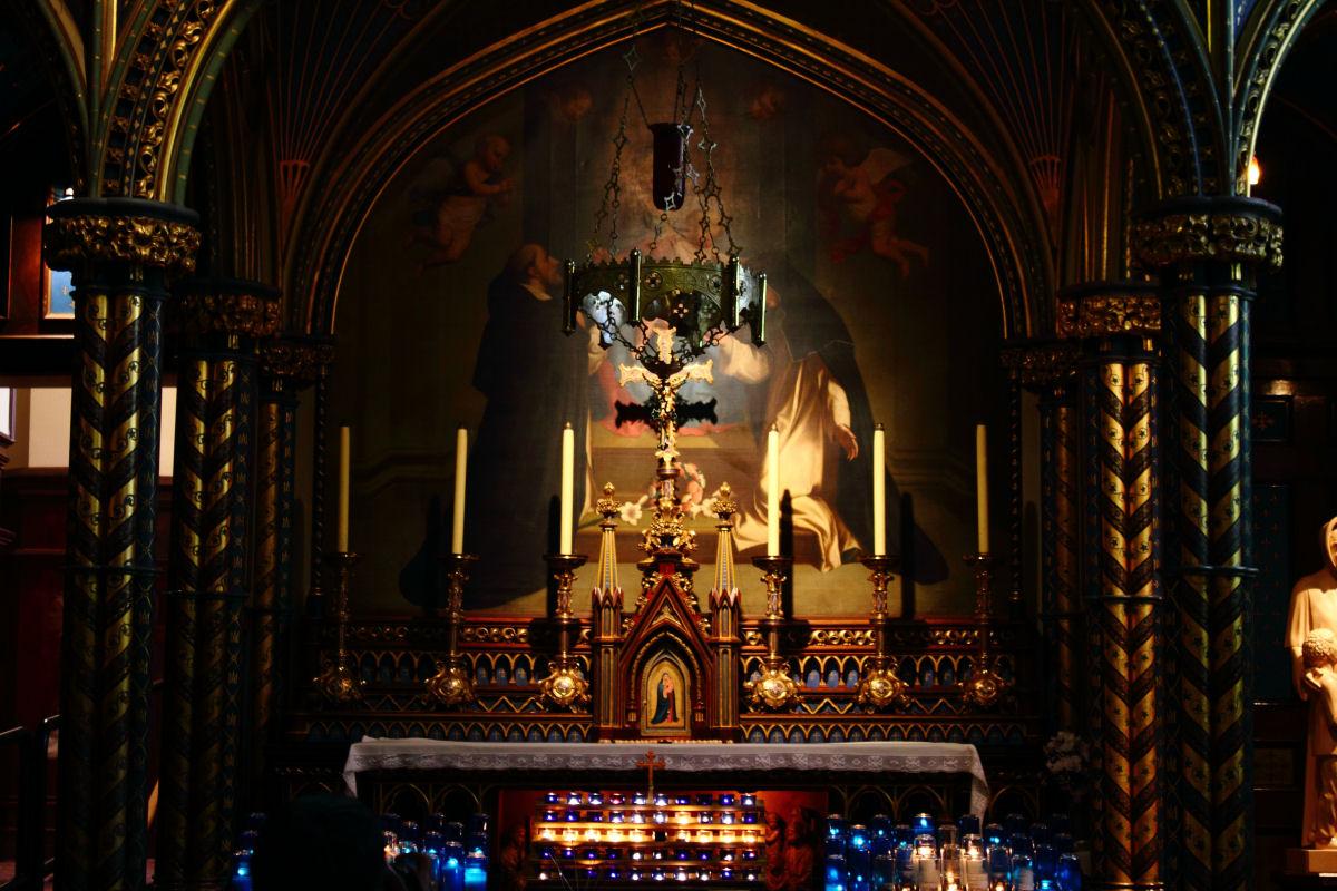Notre Dame basilica Montreal (15)