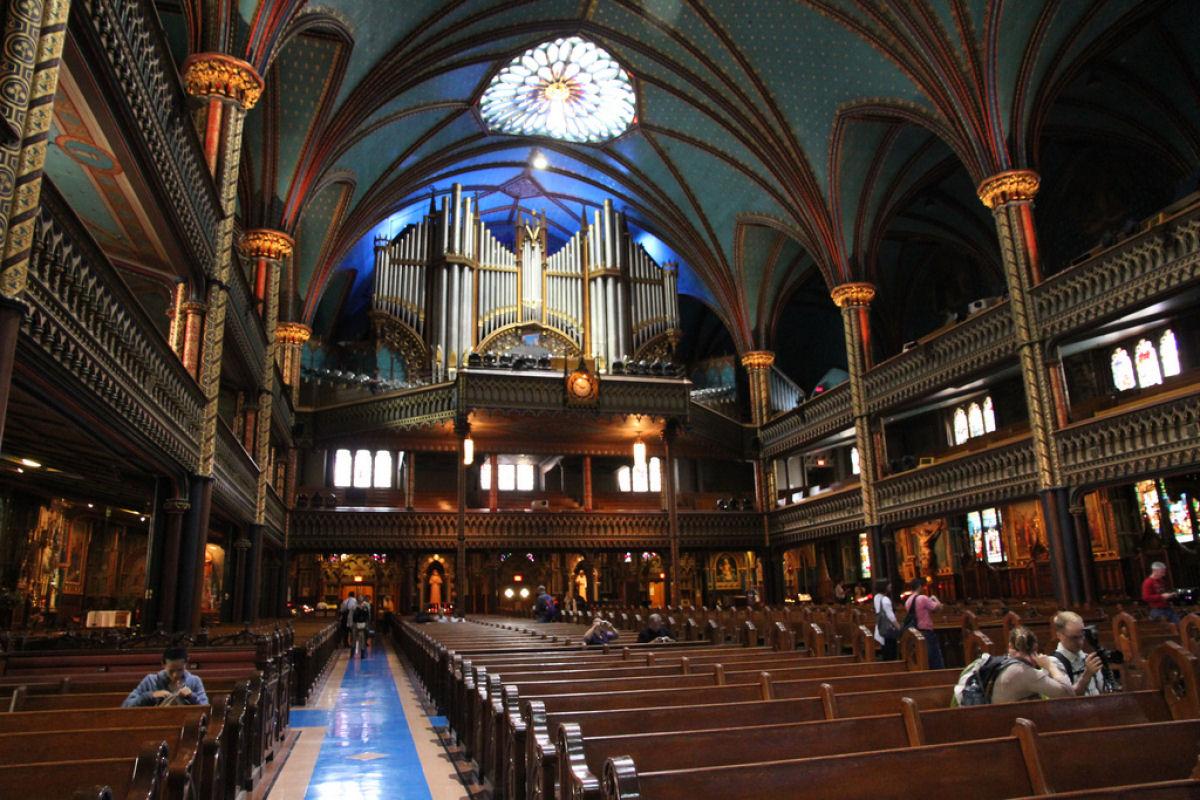 Notre Dame basilica Montreal (3)