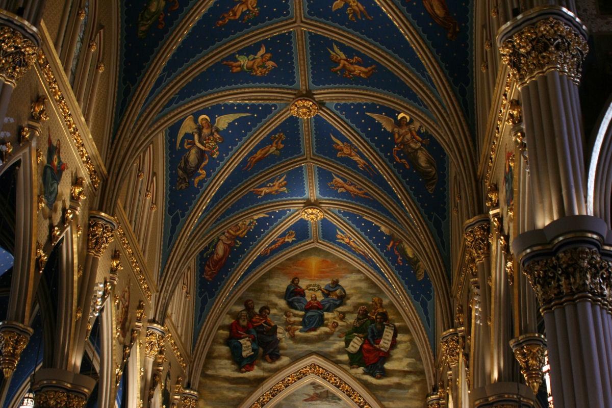Notre Dame basilica Montreal (4)