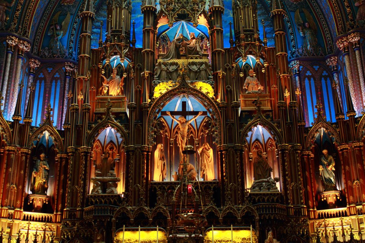 Notre Dame basilica Montreal (5)