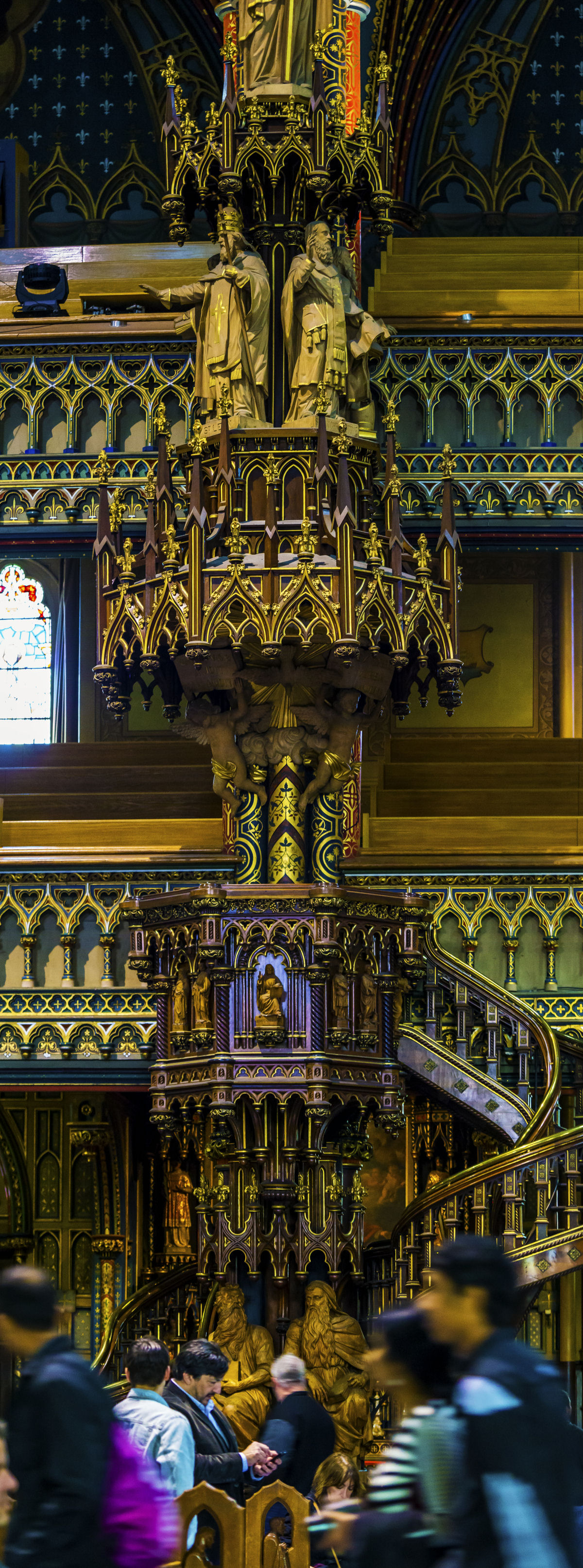 Notre Dame basilica Montreal (7)