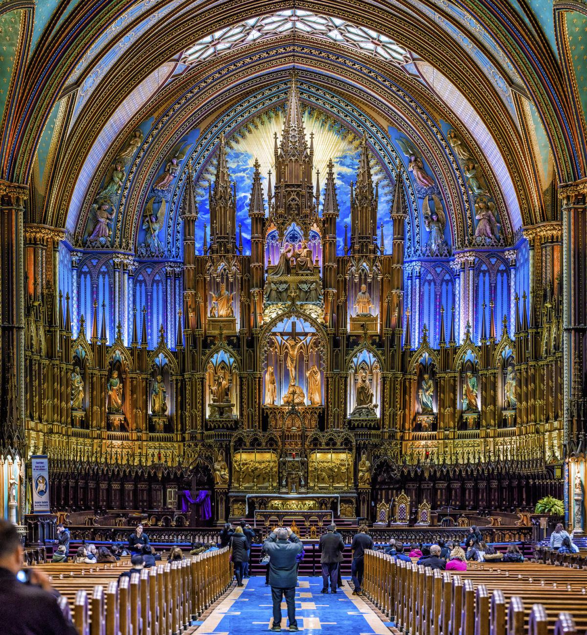Notre Dame basilica Montreal (8)