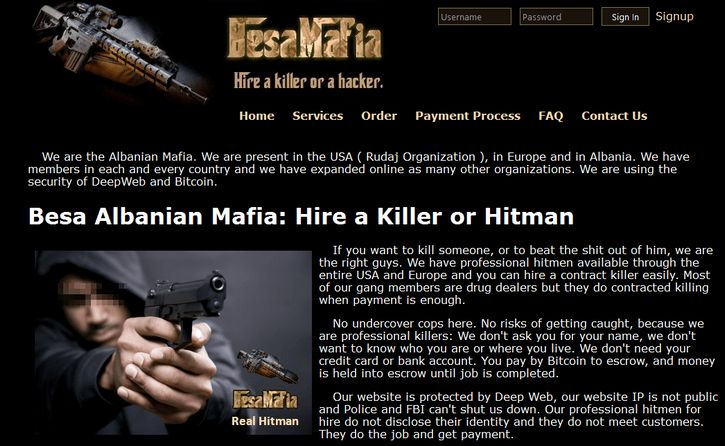besa mafia contrata