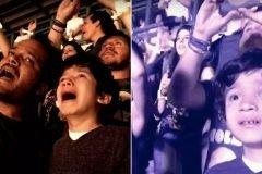 Padre lleva a su hijo autista a concierto de Coldplay y resulta algo emocionante