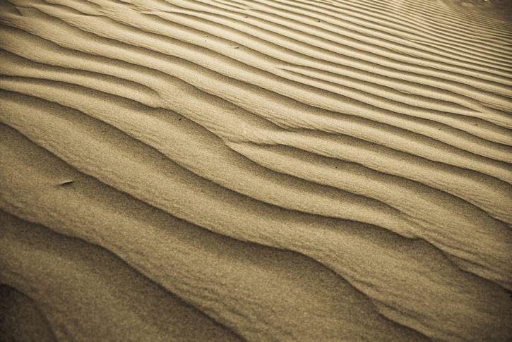 dunas de arena rayas