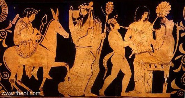 escena retorno de hefesto al olimpo