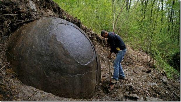 Esferas de hierro en Bosnia