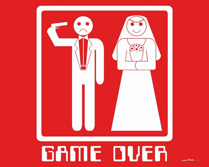 game over matrimonio