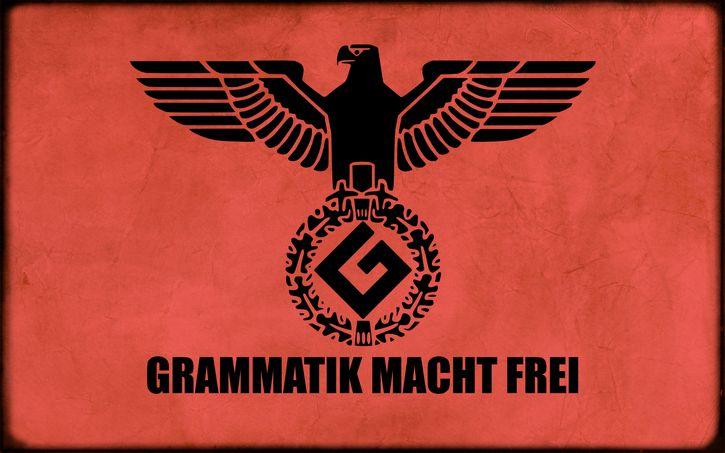 grammar nazi bandera
