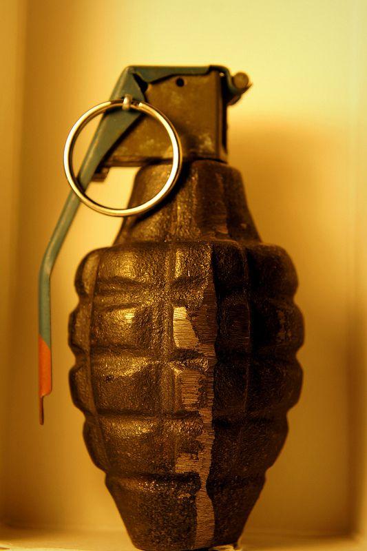 granada de fragmentacion