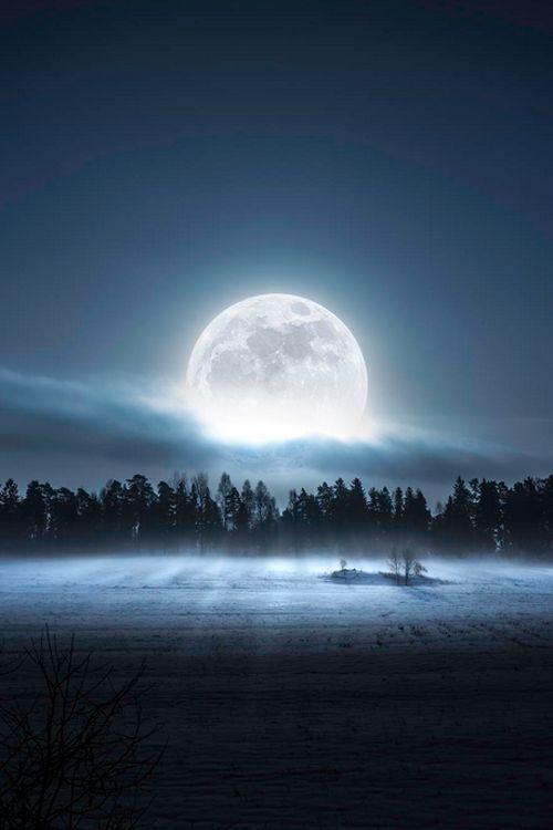 hermosa luna llena
