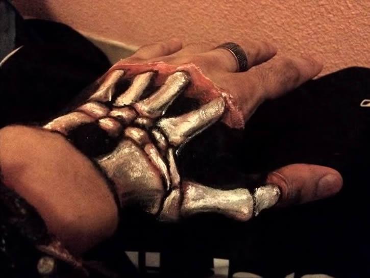 ilusion optica body art
