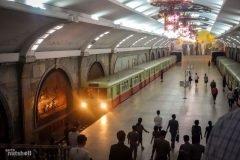 """El """"misterioso"""" metro de Corea del Norte"""