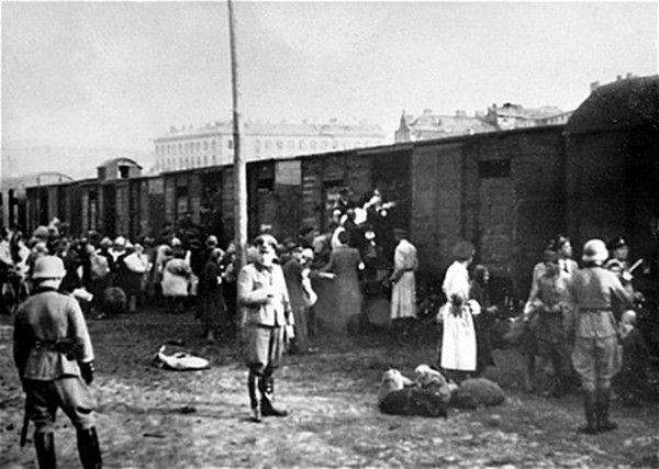 nazis trenes judios