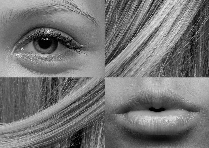 ojo pelo y boca