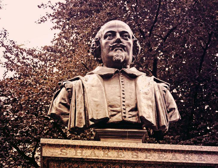 william shakespeare busto