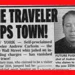 Andrew Carlssin, el misterioso viajero del tiempo