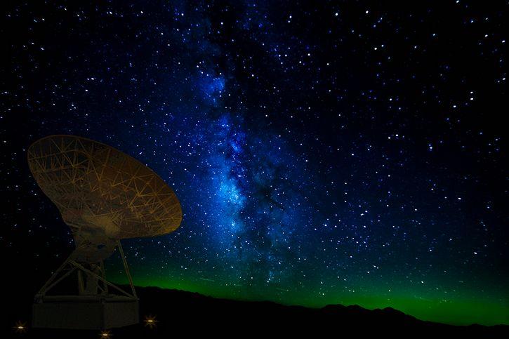 antena proyecto SETI