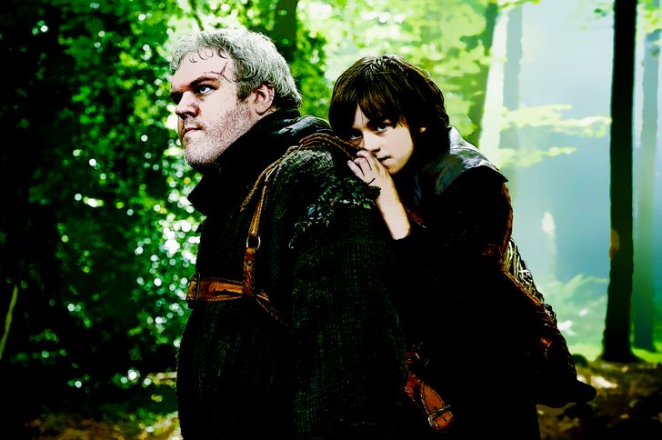 bran y hodor game of thrones