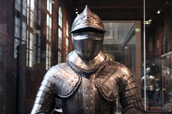 caballero medieval armadura