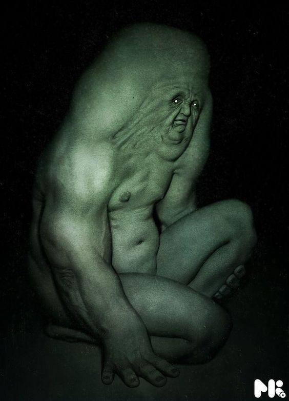 criatura terrorifica