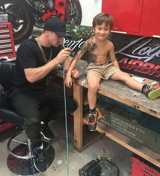 niños con tatuajes temporales (3)