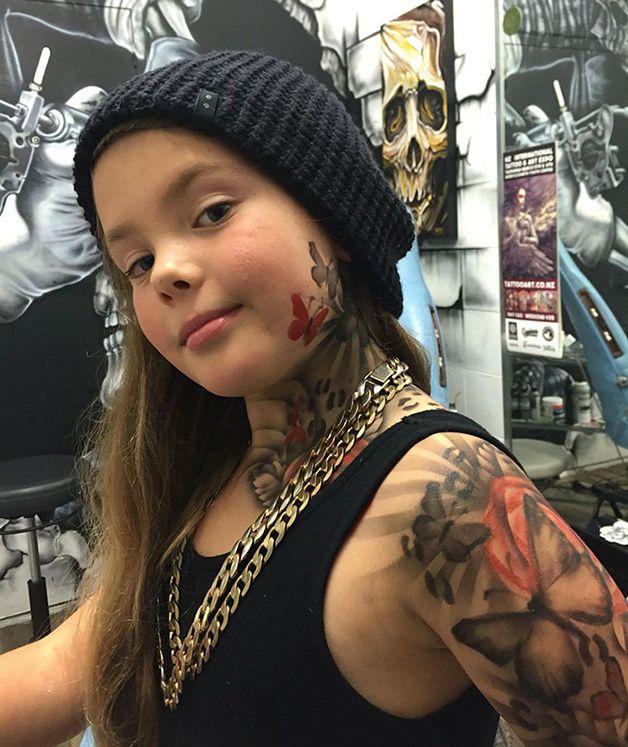 niños con tatuajes temporales (8)