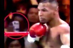 Viajero del tiempo en pelea de Mike Tyson de 1995