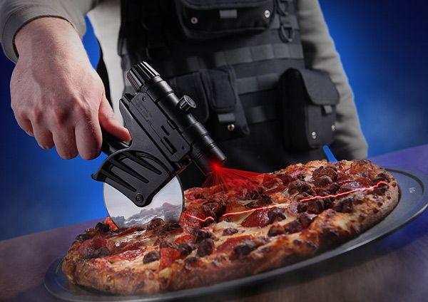 cortador de pizza laser