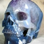 Hermosos cráneos de cristal